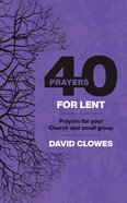 40 Prayers For Lent eBook