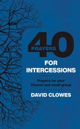 40 Prayers For Intercessions eBook