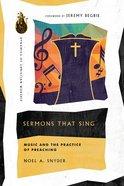 Sermons That Sing eBook