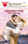 Cassandra's Song (Love Inspired Series) eBook