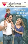 A Family For Jana (Love Inspired Series) eBook