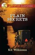 Plain Secrets (Love Inspired Suspense Series) eBook