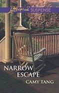 Narrow Escape (Love Inspired Suspense Series) eBook