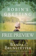 The Robin's Greeting  (Free Preview) (#03 in Amish Greenhouse Mystery Series) eBook