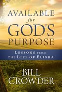 Available For God's Purpose eBook