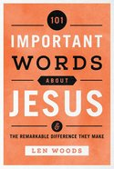 101 Important Words About Jesus eBook