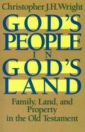 God's People in God's Land Paperback