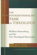 The Postfoundationalist Task of Theology Paperback
