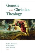 Genesis and Christian Theology Paperback
