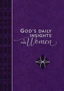 God's Daily Insights For Women Imitation Leather