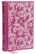 KJV Thinline Bible Compact Purple (Red Letter Edition) Hardback