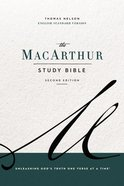 The ESV, Macarthur Study Bible, 2nd Edition, Ebook (Black Letter Edition) eBook