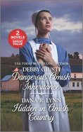 Dangerous Amish Inheritance/Hidden in Amish Country (Love Inspired 2 Books In 1 Series) Mass Market