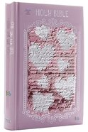 ICB Sequin Sparkle and Change Bible Pink Hardback