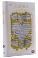 NKJV Sequin Sparkle and Change Bible Silver and Gold Hardback