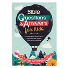 Bible Questions & Answers For Kids Paperback