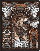 ESV Artist Series Journaling Bible (Black Letter Edition) (Joshua Noom, The Lion And The Lamb) Hardback
