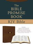 KJV Bible Promise Book Hickory Diamond Brown (Red Letter Edition) Hardback