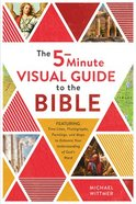 The Five-Minute Visual Guide to the Bible: Time Lines, Photographs, Paintings, and Maps to Enhance Your Understanding of God's Word Paperback