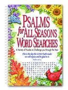 Psalms For All Seasons Word Searches Spiral