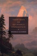 Thoughts on Religious Experience Hardback