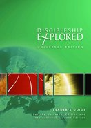 Discipleship Explored: Universal Edition (Leader's Guide) Paperback