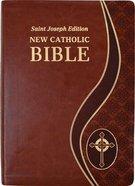 Ncb St Joseph New Catholic Bible Giant Print Brown Dura Lux Imitation Leather