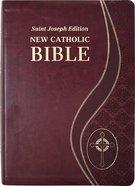 Ncb St Joseph New Catholic Bible Giant Print Burgundy Dura Lux Imitation Leather