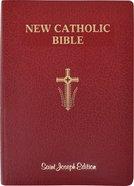 Ncb St Joseph New Catholic Bible Giant Print Red Imitation Leather