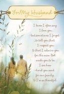 Husband - I Love and Appreciate You Cards