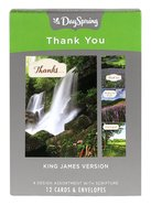 Boxed Cards Thank You: Thanking God For You- Landscapes Box
