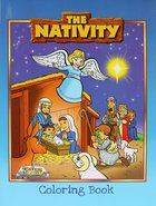 Colouring Book: Nativity Paperback