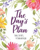 Undated Diary/Planner: The Day's Plan: Tasks, To-Do's, & Time With God Spiral