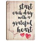 Magnet: Start Each Day With a Grateful Heart Novelty