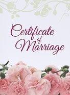 Certificate: Marriage 1 Cor 13:4-8 (5 X 7) Church Supplies