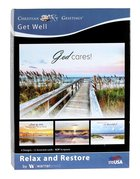 Boxed Cards: Get Well - Relax and Restore (Kjv) Box