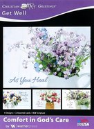 Boxed Cards: Get Well - Comfort in God's Care (Kjv) Box