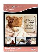 Boxed Cards: Get Well - Love Bears All (Kjv) Box