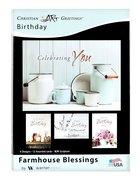 Boxed Cards: Birthday - Farmhouse Blessings (Kjv) Box