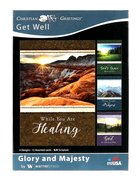 Boxed Cards: Get Well - Glory and Majesty Lanscapes (Kjv) Box