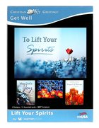 Boxed Cards: Get Well - Lift Your Spirits (Niv) Box