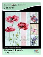 Boxed Cards: Get Well - Painted Petals (Kjv) Box