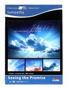 Boxed Cards: Sympathy - Seeing the Promise Skies (Niv) Box