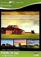 Boxed Cards: Birthday, Fields of Joy Box