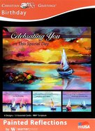 Boxed Cards: Birthday, Painted Reflections Sailboats Box