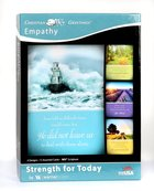Boxed Cards: Empathy - Strength For Today (4 Designs, 12 Assorted Cards, Niv) Box