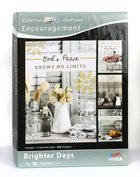 Boxed Cards: Encouragement - Brighter Days (4 Designs, 12 Assorted Cards, Kjv) Box