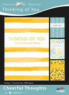 Boxed Cards: Thinking of You, Cheerful Thoughts Box