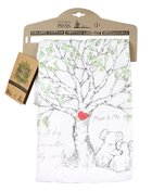Apron Organic White (Aco Certified Organic Cotton) (Above All Keep Loving 1 Peter 4: 8) (Australiana Products Series) Homeware