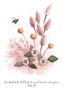 Blank (Floral Bees) Cards